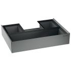 Верхний выдвижной блок для сортера Blanco Select Orga 518727 серый
