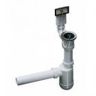 Отводная арматура с переливом и сифоном Blanco 137978 пластик/нержавеющая сталь