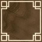 Напольная плитка 45х45 Yellow Stone Evora Marron (коричневая)