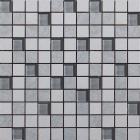 Мозаика 300х300 Береза Керамика Рамина Серый Микс