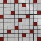 Мозаика 300х300 Береза Керамика Фрезия Белая Микс