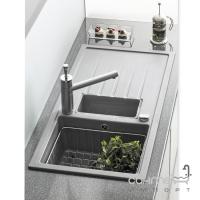 Кухонная мойка Longran Classic CLS 1000.500.15 оборотная