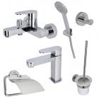 Набор смесителей и аксессуаров для ванной комнаты Noken Hotels