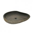 Раковина накладная IMSO Ceramiche ovale riverstone D40/60 камень