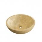 Раковина накладная IMSO Ceramiche tondo miele esterno levigato D40 камень