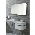 Зеркало + смеситель с донным клапаном + тумба с раковиной + сифон Noken Pack Forma 100149461 - N350798842