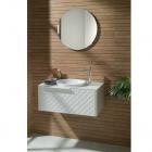 Зеркало + смеситель + раковина с донным клапаном + тумба + столешница Noken Pack Lounge 100124176 - N379000014
