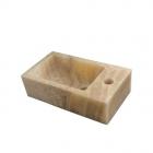 Раковина накладная IMSO Ceramiche mini rettangolo 36x20 оникс