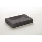 Мыльница прямоугольная IMSO Ceramiche 9x12 черный базальт