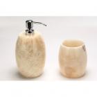 Дозатор для жидкого мыла+стакан IMSO Ceramiche камень