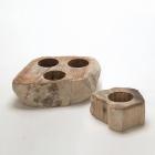 Набор подсвечников IMSO Ceramiche камень