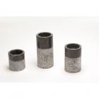Набор подсвечников IMSO Ceramiche мрамор, цвета в ассортименте