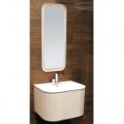 Комплект мебели для ванной комнаты Cerasa Suede Perla