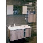 Комплект мебели для ванной комнаты Cerasa Movida Tavolato Biscotto