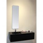 Комплект мебели для ванной комнаты Cerasa Ryo черный глянец