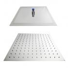 Верхний душ Dorff 350x350 квадратный, хромированная нержавеющая сталь