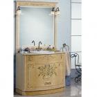Комплект мебели для ванной комнаты Jurado Andrea 107 ясень с инкрустацией