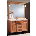 Комплект мебели для ванной комнаты Jurado Toscana 115 ясень/travertino