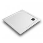Квадратный душевой поддон из литого мрамора Gronix Deniz D1-100100-3 цветной (RAL)