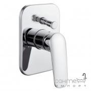 Смеситель для ванны скрытого монтажа Imprese Praha VR-10030(Z) new хром
