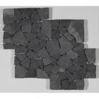 Мозаика 30x35 IMSO Ceramiche Palladiana Catedral Andesit (черная)