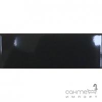 Настенная плитка 9,8х29,8 Paradyz PAMPELUNA NERO (черная, глянец)