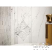 Фриз настенный 5x25 Ascot GlamourWall Torello Calacatta (белый)