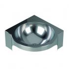 Антивандальная угловая раковина Purus V214H 763 12 13 нержавеющая сталь