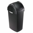 Урна с крышкой Simplehuman CW1336 черный пластик