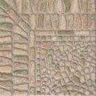 Напольная плитка под камень 33.3x33.3 Tuscania Pebbly Green (бежевая)