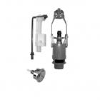 Механизм двойного смыва+труба+поплавок+вентиль Cielo Windsor WINMEС хром